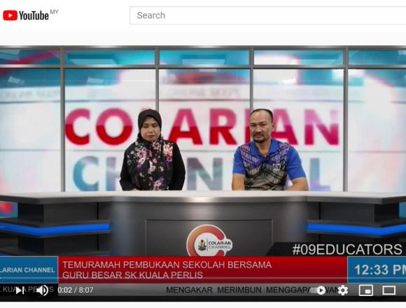 Temuramah Pembukaan Sekolah Bersama Tuan Guru Besar SK Kuala Perlis