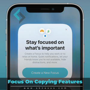 Read more about the article iOS 15 Highlight – Putting Focus Back In Your Life