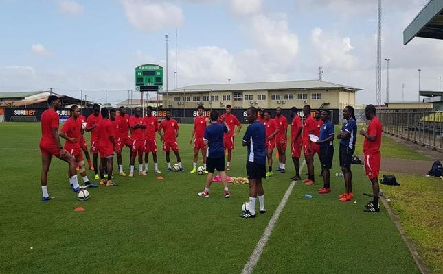 St. Kitts and Nevis Team Training
