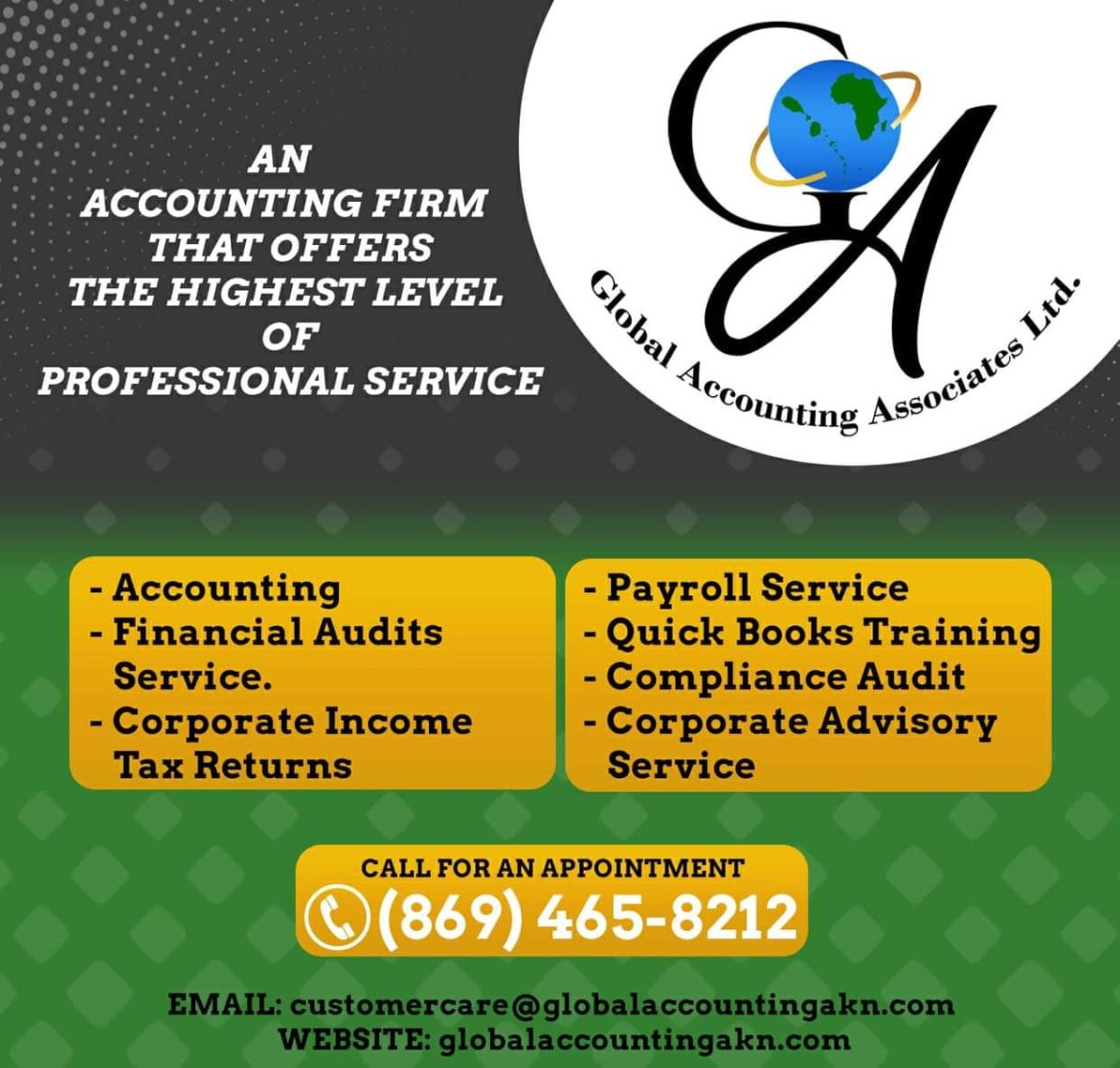 Global Accounting Associates Ltd