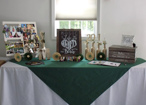 High School Graduation Party Table