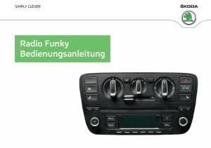 Skoda Radio Funky Betriebsanleitung für Citigo