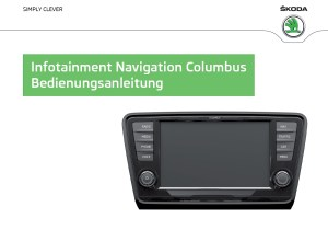 Deutsche Betriebsanleitung Radionavigationsgerät Columbus (2013)