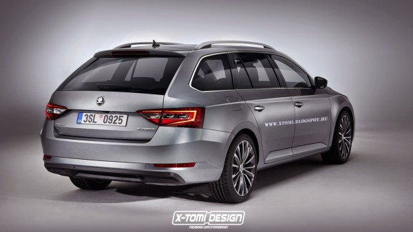 Skoda Superb Combi rear2