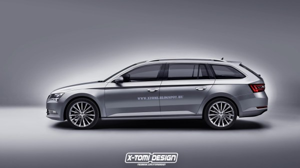 Skoda Superb Combi side2