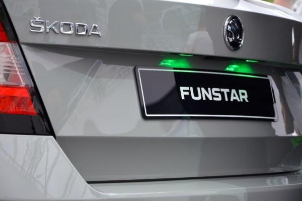 Skoda FUNstar LED Kennzeichenleuchte