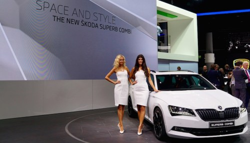 Skoda Superb IAA 2015