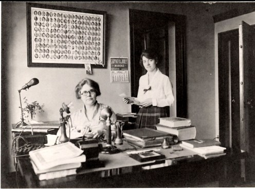 In 1910, Mary Howard began her career as a legal secretary at the firm where attorney Squire R. Ogden became a partner. Her great-granddaughter, Donna Rhodus is currently a legal assistant in SKO's Lexington office.