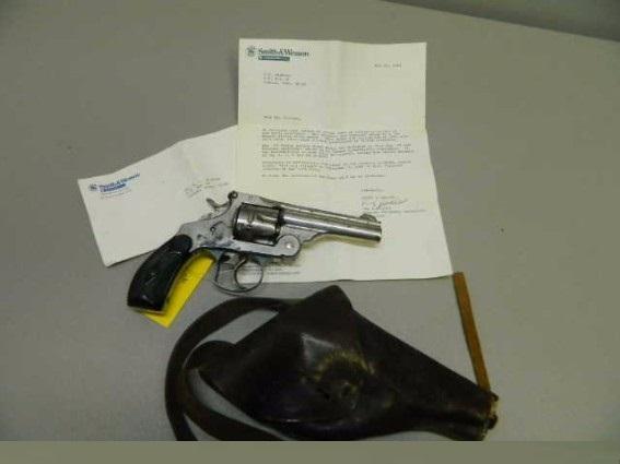 Smith & Wesson 1880 First Model DA 44 RUSSIAN