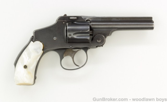 Smith Wesson 38 Safety Hammerless 1st Model