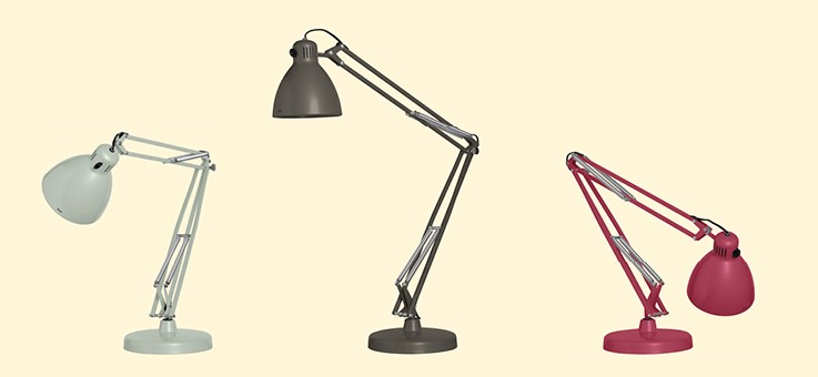 le corbusier luxo lamp