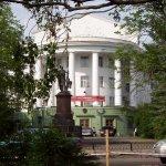 Ved universitetet i Arkangelsk var den einaste ordførardebatten i valet 2008