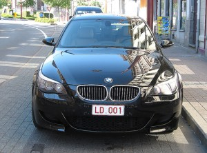 BMW og dei andre tyske bilprodusentane vann fram med kravet om svakare utsleppskrav. Foto anita.trans