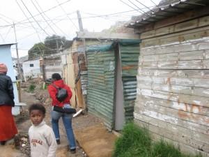 Jula er annleis i ein Township i Sør-Afrika enn i Noreg. Foto: Liv Marie Austrem