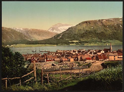 Gamle  Tromsø  og  Harstad