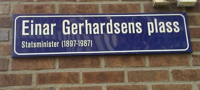 Einar Gerhardsens plass