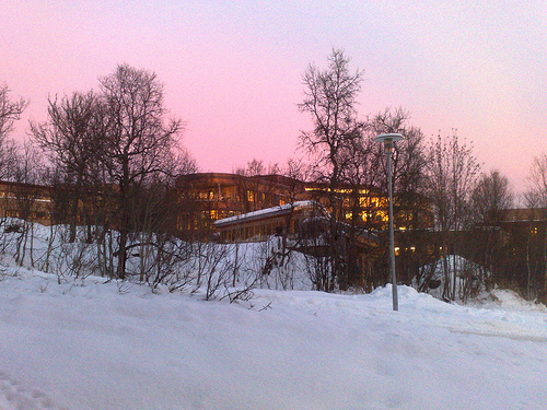 Mørketid  i  Tromsø  –  mørkt?