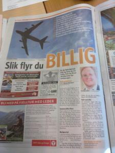 Billige  fly  i  Dagbladet