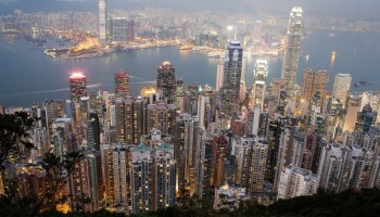 Skyskarparar i Hong Kong