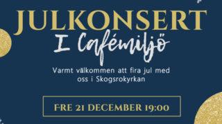Julkonsert i Cafémiljö