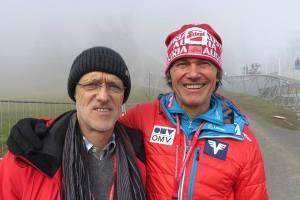 Anton Innauer i Andreas Felder (fot. Hans Aumayr)