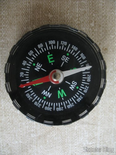 Compass full of Stylish fluid