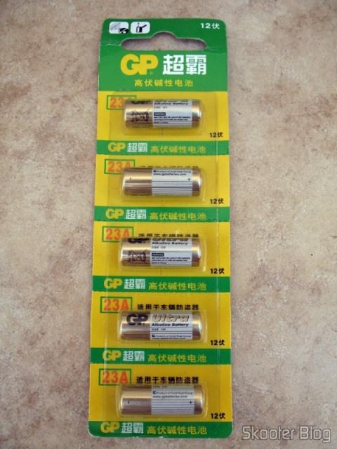 Pacote de baterias GP 23A