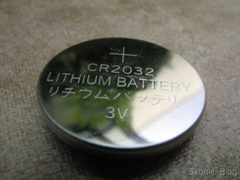 Macro de bateria 2032