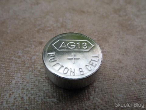 Macro da bateria AG13 / LR14