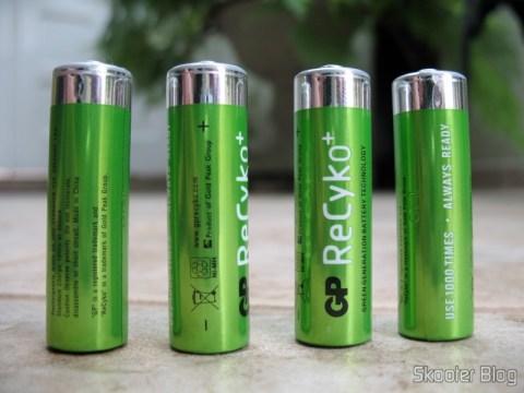 Pilhas GP Recyko+