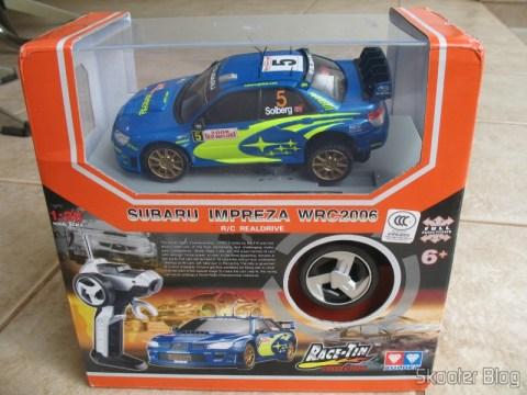 Caixa do Subaru Impreza WRC2006 da Auldey