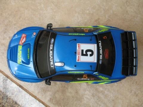 Visão aérea do Subaru Impreza WRC2006 da Auldey
