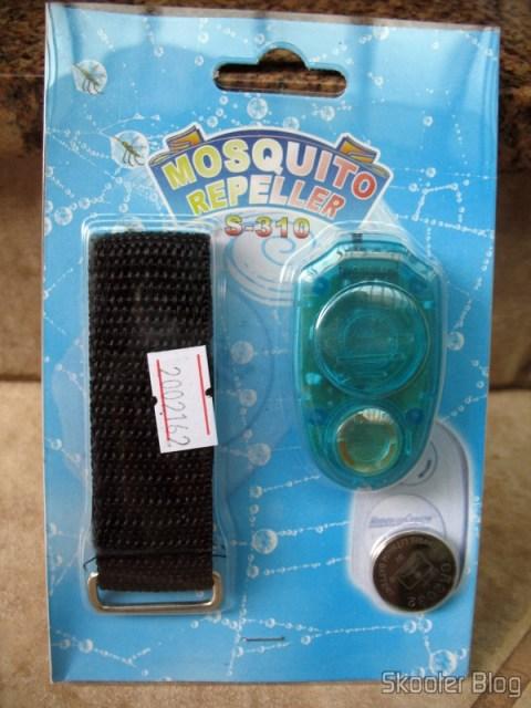 Embalagem do repelente eletrônico de mosquitos