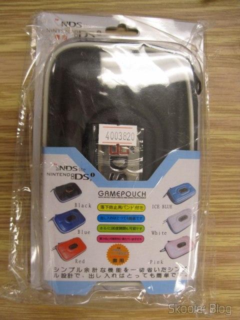 Embalagem do Case mostrando outras opções de cores
