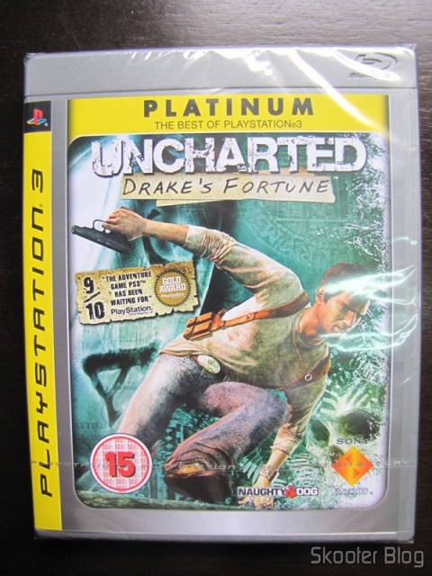 Uncharted: Drake's Fortune, ainda lacrado