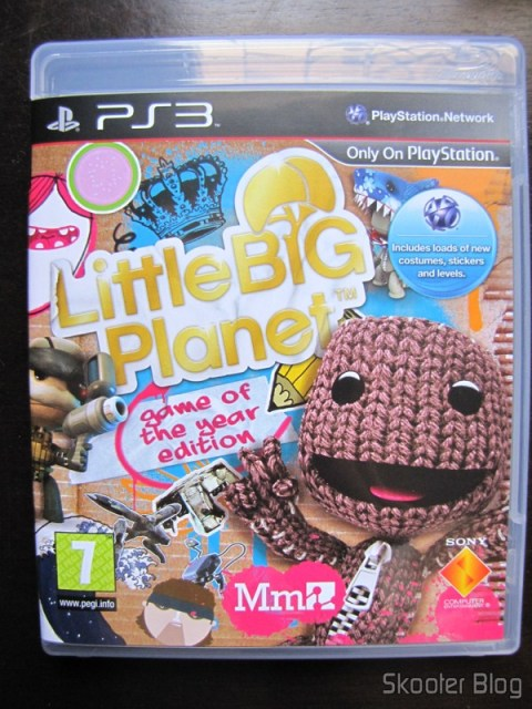 Capa do Little Big Planet Game of the Year Edition