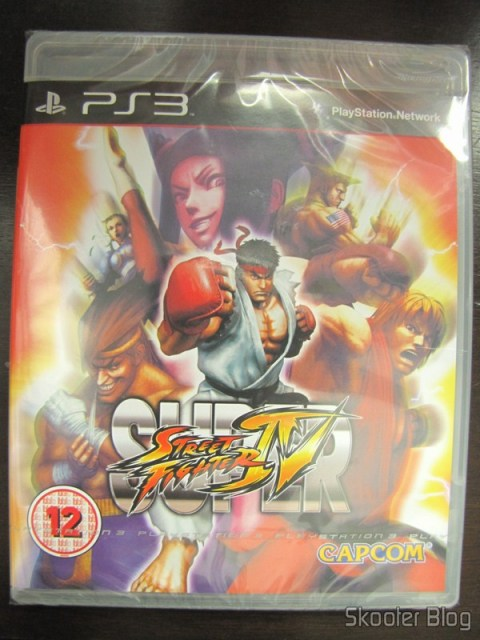 Super Street Fighter IV do PS3, ainda lacrado
