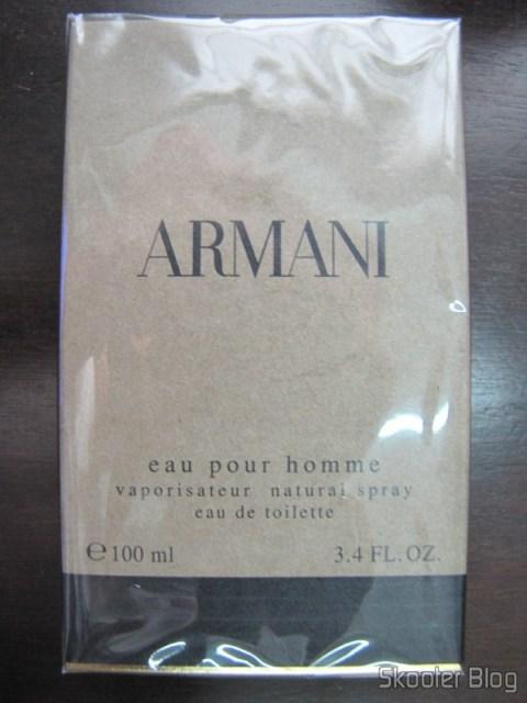 Perfume Armani 100ml na caixa original lacrado