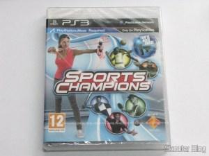 Sport Champions - Move na caixa ainda lacrada