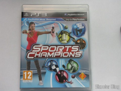 Capa do Sport Champions - Move para o Playstation 3