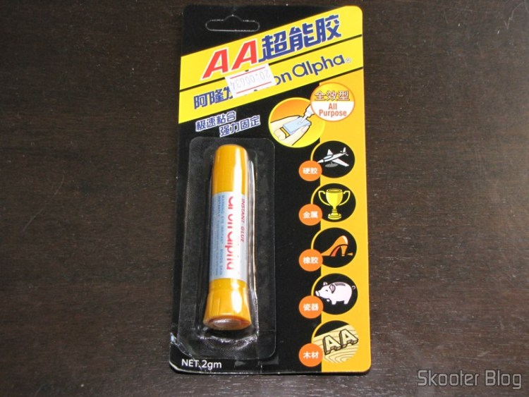 Aron Alpha Super Glue in new packaging