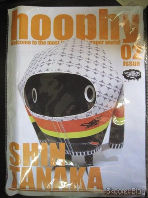 Brinquedo de papel Hoophy, do artista Shin Tanaka