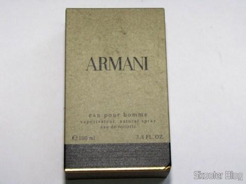 Armani Cologne by Giorgio Armani, 3.4 oz Eau De Toilette Spray for Men, na caixa de papelão original