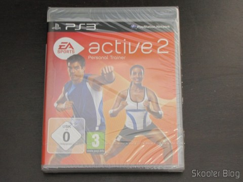Caixa do Blu-ray do EA SPORTS Active 2 do Playstation 3, ainda lacrada