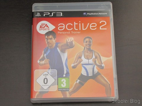 Caixa do Blu-ray do EA SPORTS Active 2 do Playstation 3