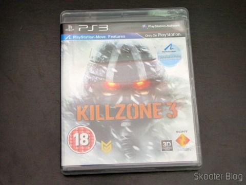A capa do Killzone 3 (PS3)
