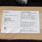 O segundo pacote da FragranceX.com, não tributado