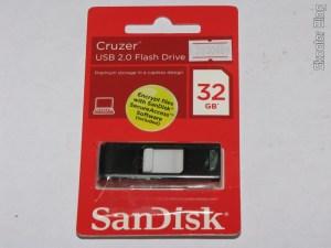 Pendrive Sandisk Cruzer 32GB USB 2.0 Genuíno
