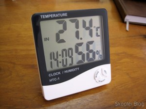 The Clock-Thermometer-Hygrometer Digital