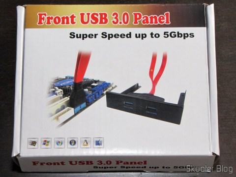Painel Frontal com 2 portas USB 3.0